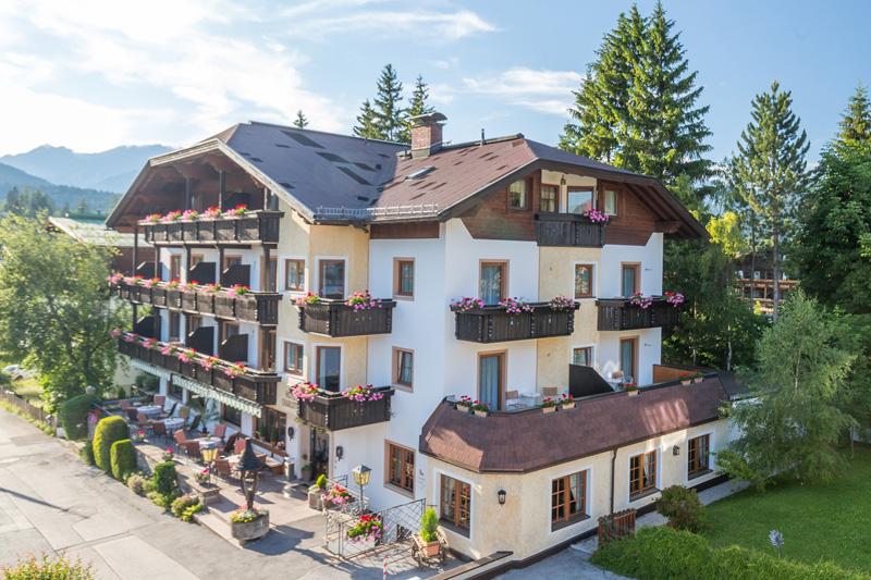 Sommerurlaub im Appart- und Wellnesshotel Charlotte in Seefeld