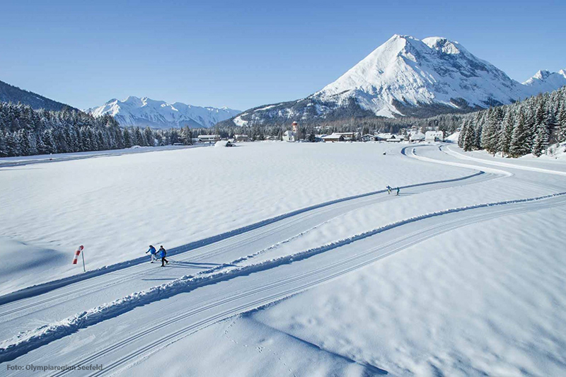 Winterurlaub in der Olympiaregion Seefeld