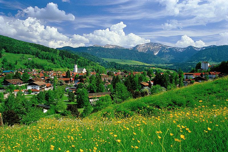Sommerurlaub in Oberstaufen im Allgäu