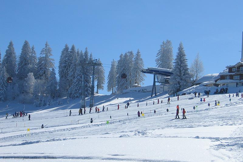 Abfahrtski in Oberstaufen im Allgäu