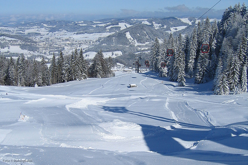 Skifahren in Oberstaufen