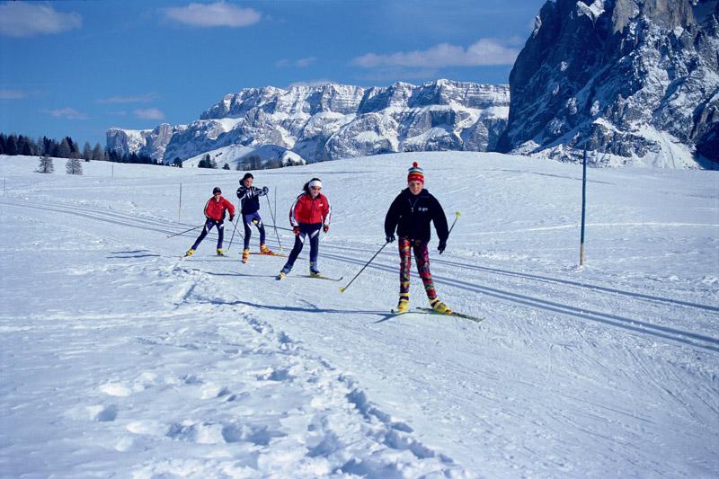 Seiser Alm - Das Langlauf Mekka in Südtirol