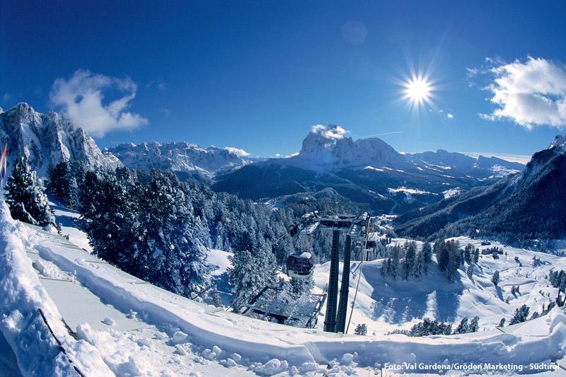 Skifahren in den Dolomiten - Dolomiti Superski