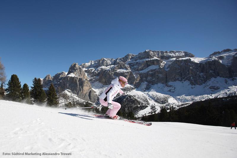 Skiurlaub in den Dolomiten