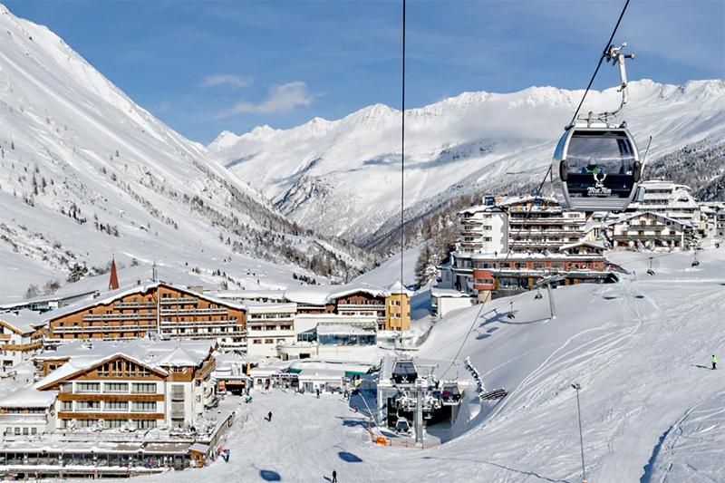 Urlaub mitten im Skigebiet und direkt an der Piste