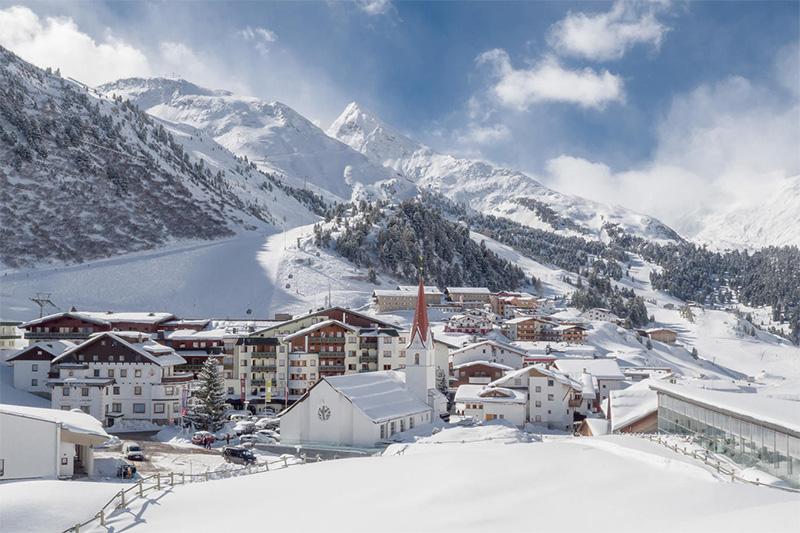 Winterurlaub in Obergurgl