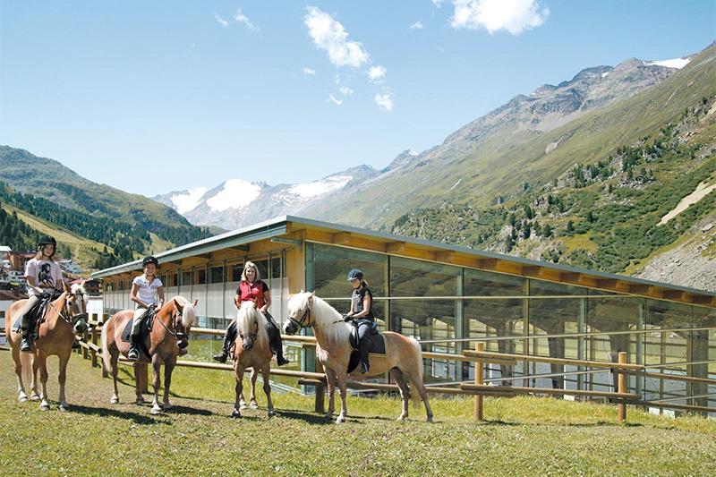 Reiterferien in Obergurgl