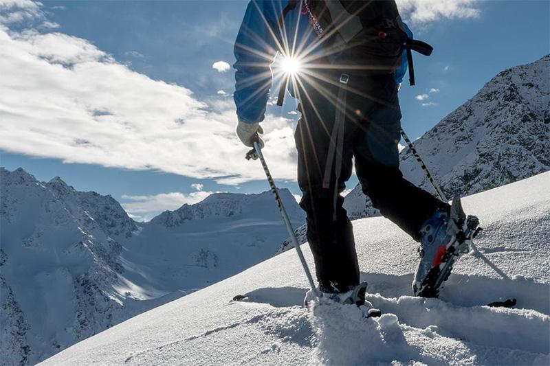 Schneeschuhwandern im Winterparadies Obergurgl