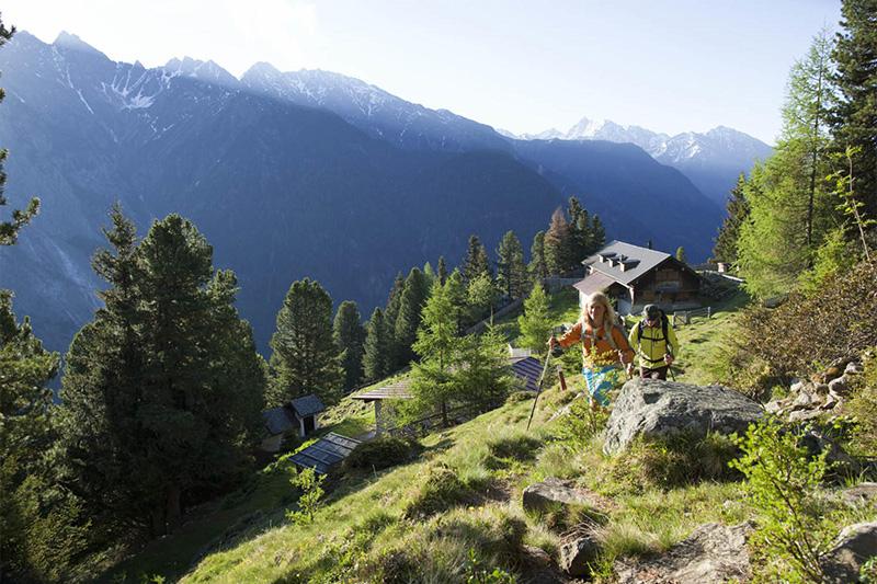 Wellness und Wandern im Ötztal