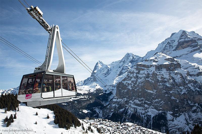 Bergbahn Mürren-Schilthorn