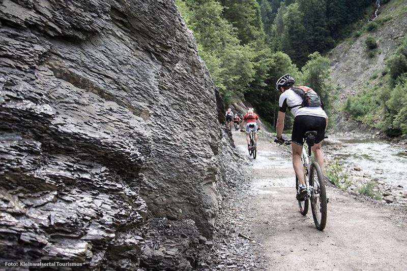 Biken im Kleinwalsertal