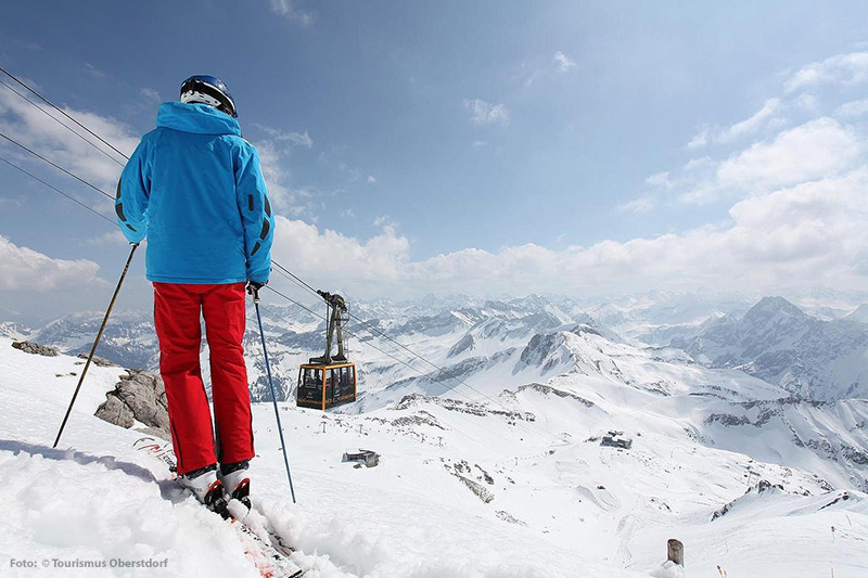 Nebelhorn Gipfelhang