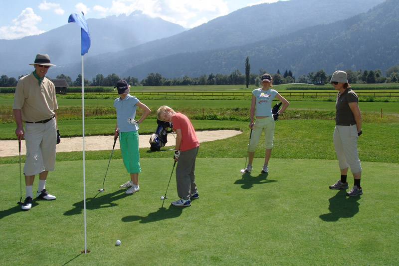 Golfurlaub in Kärnten