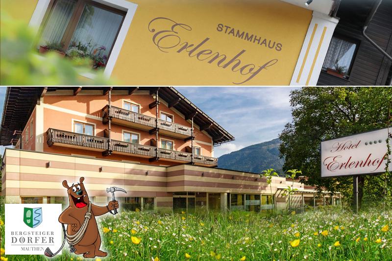 Haupthaus Erlenhof sowie das Stammhaus