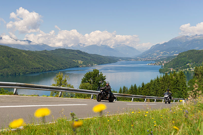 Motorradtouren durch die Südalpen