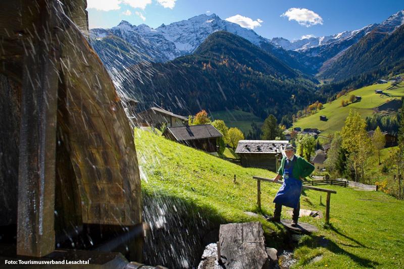 Mühlenweg Maria Luggau insgesamt findet ihr 200 Mühlen