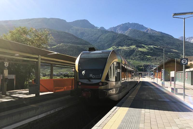 Bahnhof Laas Vinschgerbahn