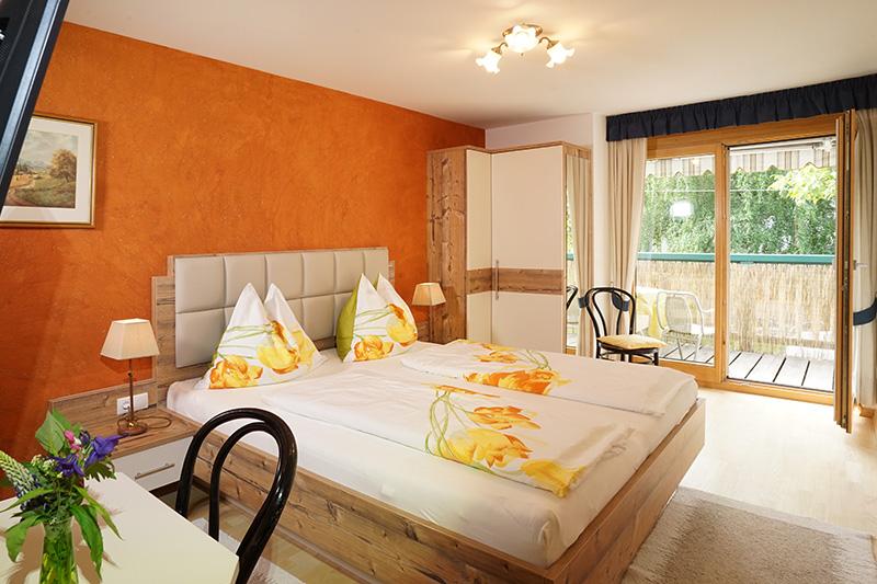 Schlafzimmer Ferienwohnung Glurns