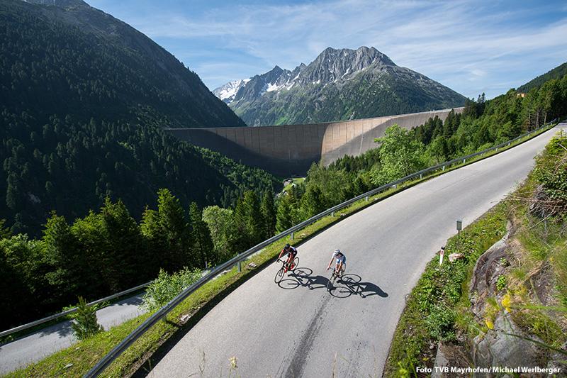 Rennradfahren auf der Zillertaler Höhenstraße