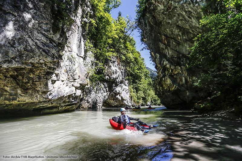 Riverbug-Action-Tour im Zillertal