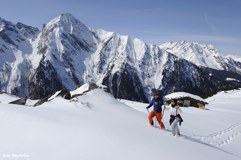 Schneeschuhwandern in Hippach-Mayrhofen