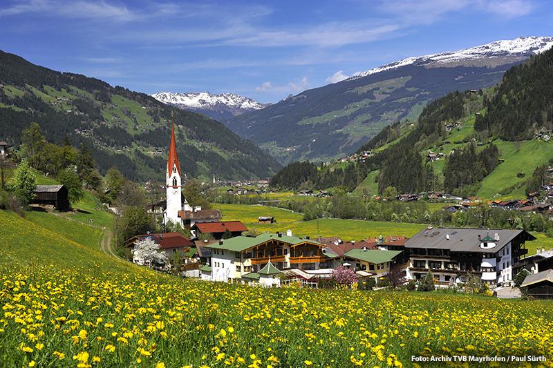 Sommerurlaub in Hippach/ Zillertal/ Tirol)