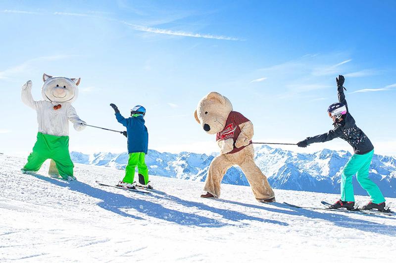 Das familienfreundliche Skigebiet - Wildkogel-Arena (75 Pisten-km) in der Ferienregion Nationalpark Hohe Tauern