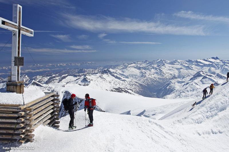 Der höchste Gipfel in Salzburg ist der Großvenediger (3.657 m)