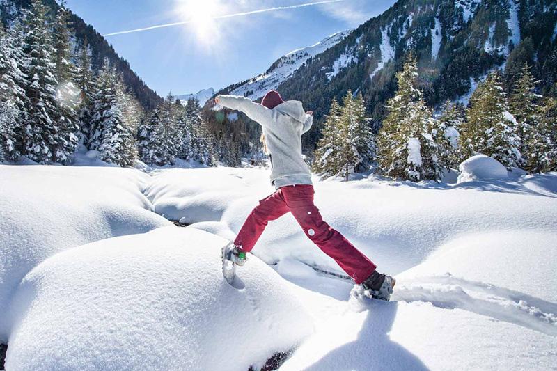 Entdecke den Neukirchner Winter | Langlaufen, Skitourengehen, Eislaufen und Eisstockschießen, Reiten, Winterwandern und Paragleiten sind in der Ferienregion im Winter möglich