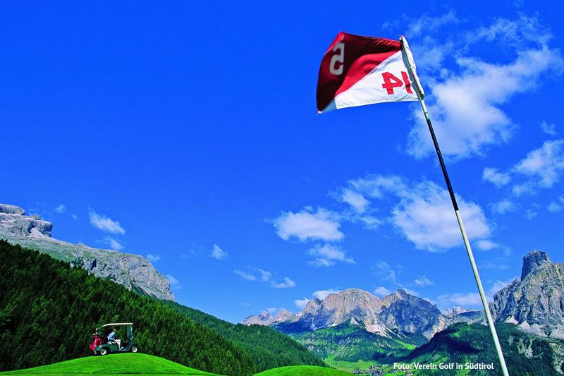 Golfclub Alta Badia in den Dolomiten