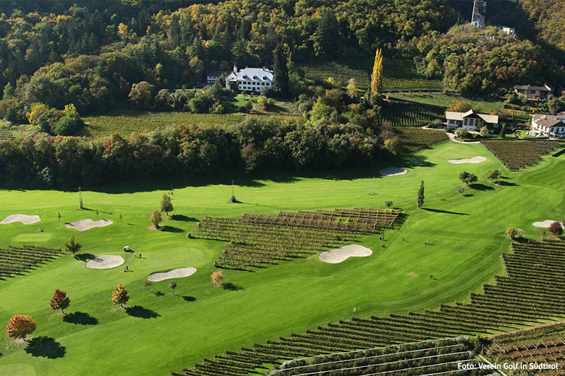 Gutshof Brandis des Golfclubs Lana