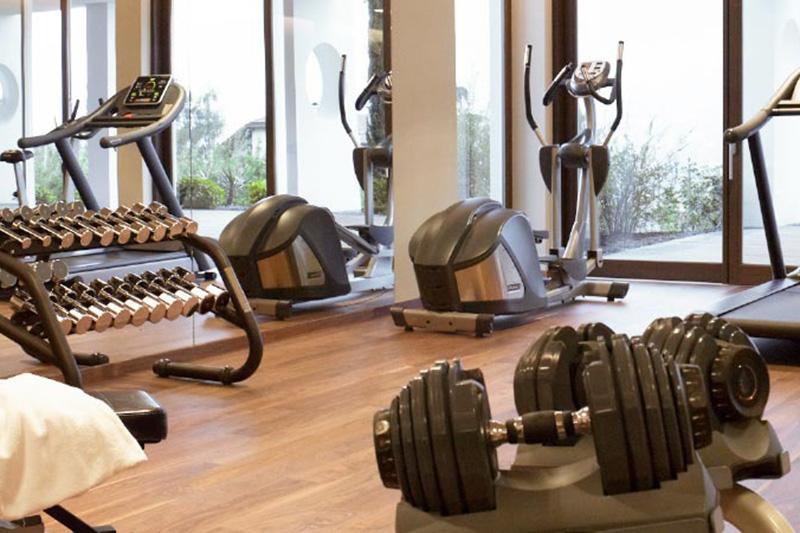 Fitnessraum im Hotel