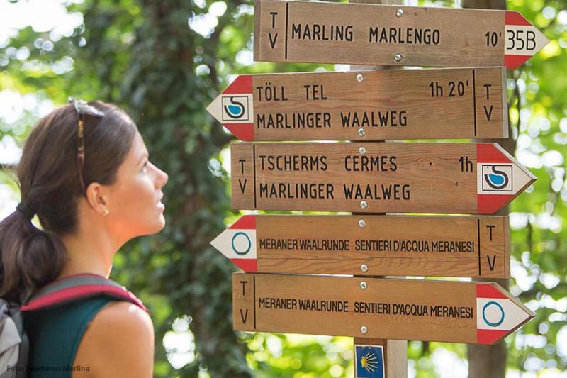 Wanderwege im Meraner Land