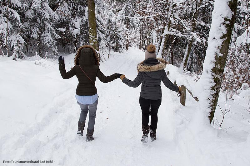 Winterwandern in Bad Ischl