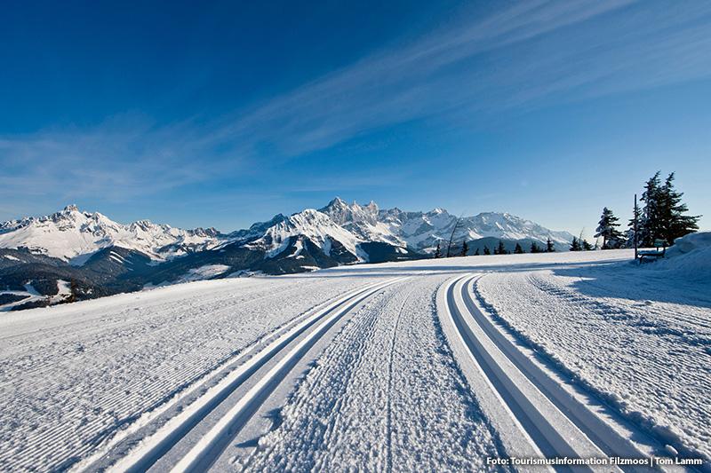 Winterlandschaft in Filzmoos