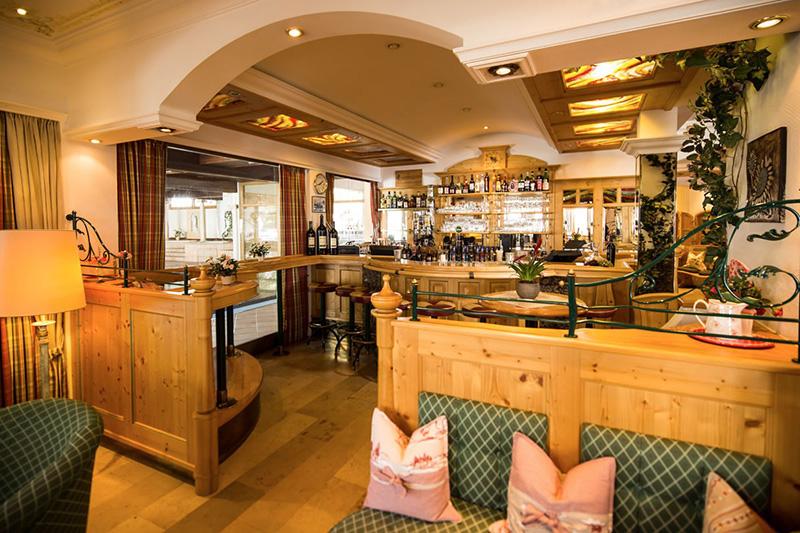 Hotelbar für geselliges Beisammensein im Hotel Hanneshof