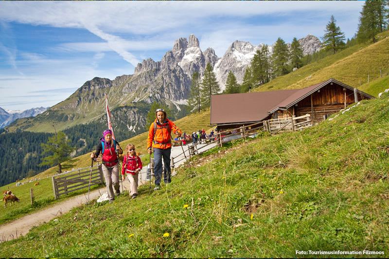Familienurlaub in Filzmoos im Salzburger Land