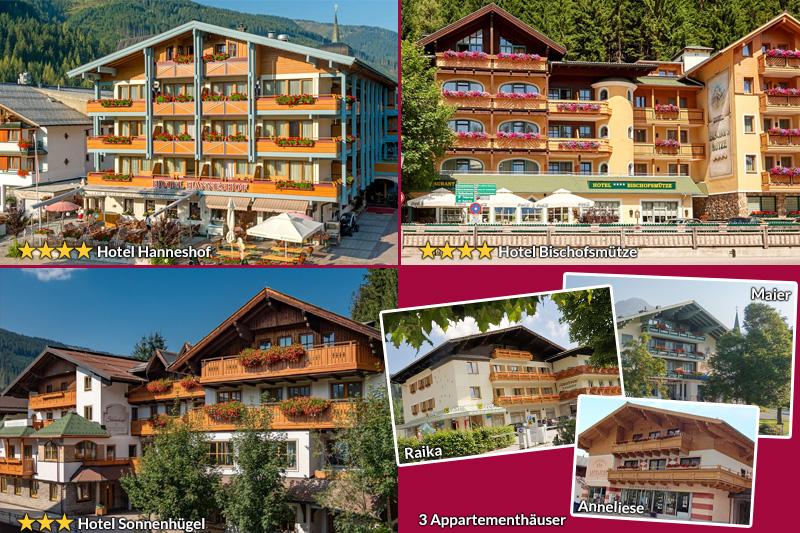 Hanneshof-Resort-Filzmoos-Sommer-Haeuser