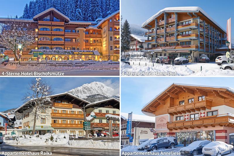 Hanneshof Resort Zentrum des Wintersportortes Filzmoos