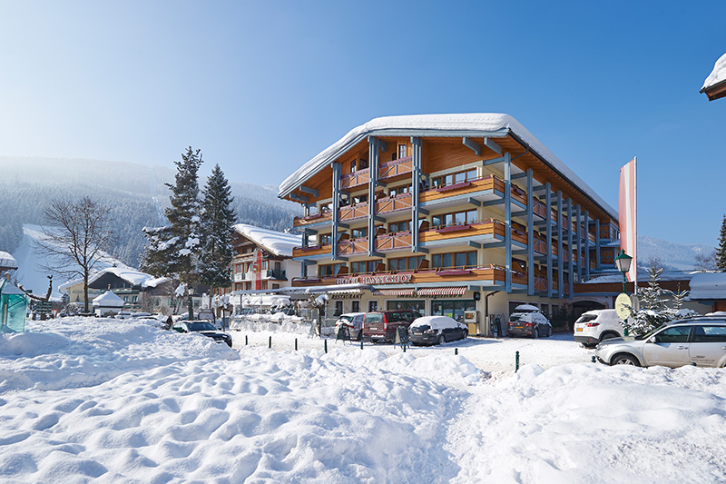 Winterurlaub im Hanneshof Resort in Filzmoos