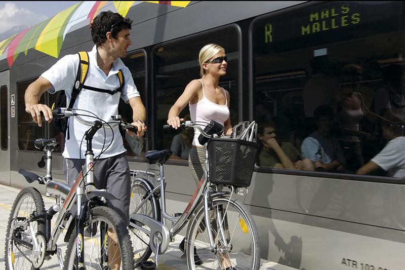 E-Biken den Etschradweg entlang der Via Claudia Augusta