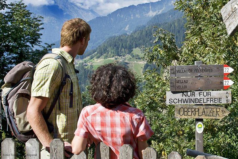 Wanderwege Algund