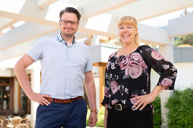 Deine Gastgeber Martina Fischer und Lars Konietzko
