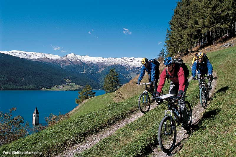 Mountainbiken Reschenpass
