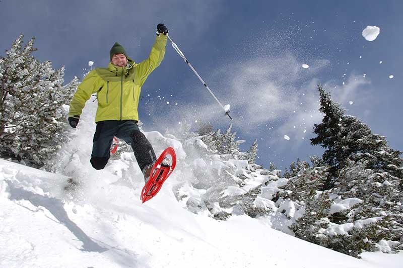 Schneeschuhlaufen im Vinschgau