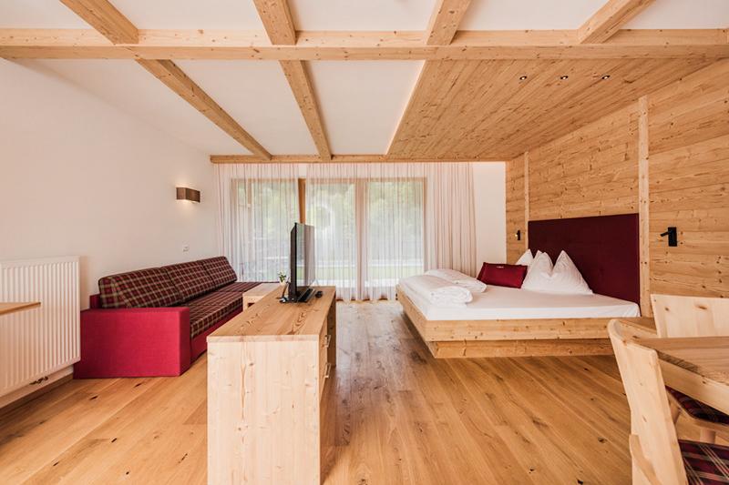 Alpine Lifestyle Suite 50-55 m² im Alpine Nature Hotel Stoll