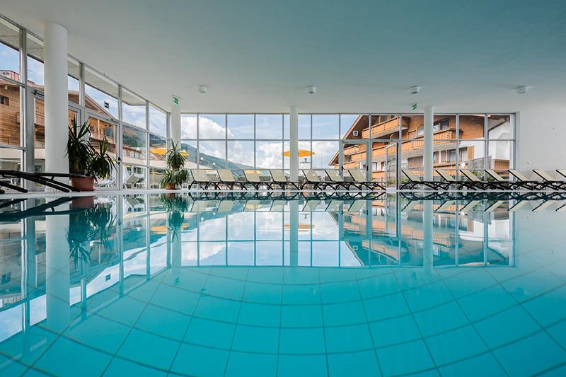 1.200 m² Wellnessareal und Bergblick o im Hotel Stoll in Südtirol