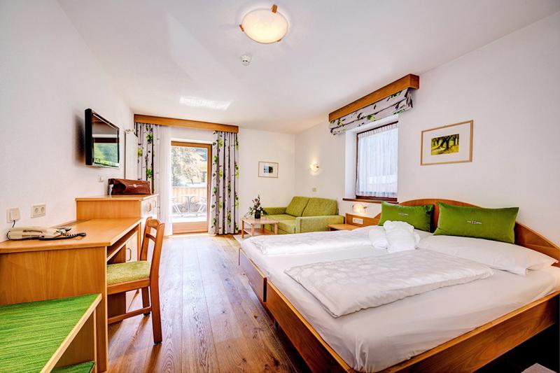 Komfortzimmer 21-26 m² im Alpine Nature Hotel Stoll