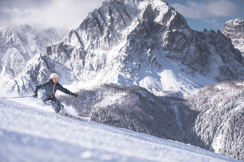 Skifahren in den Skigebieten Drei Zinnen und Kronplatz