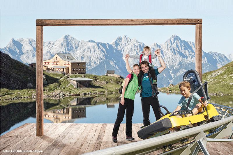 Bühne frei für Bergerlebnisträume in der Ferienregion Pillerseetal in Tirol am Wildseeloder (2.118 m)